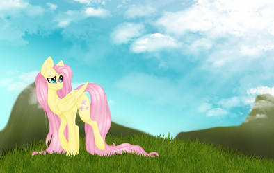 Fluttershy Open Collab By SodaPopFairyPony