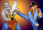 Walker Texas Chainsaw Massacre