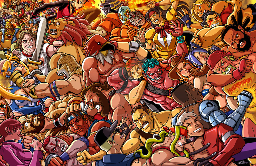 2015 Grapplers Rumble by GabeLamberty