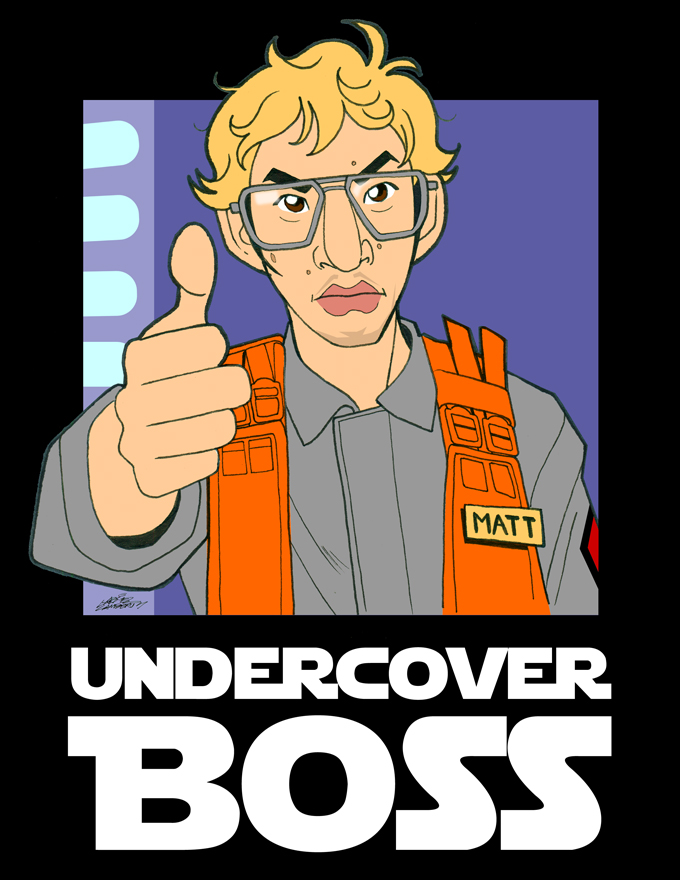 2016 Undercover Boss by GabeLamberty