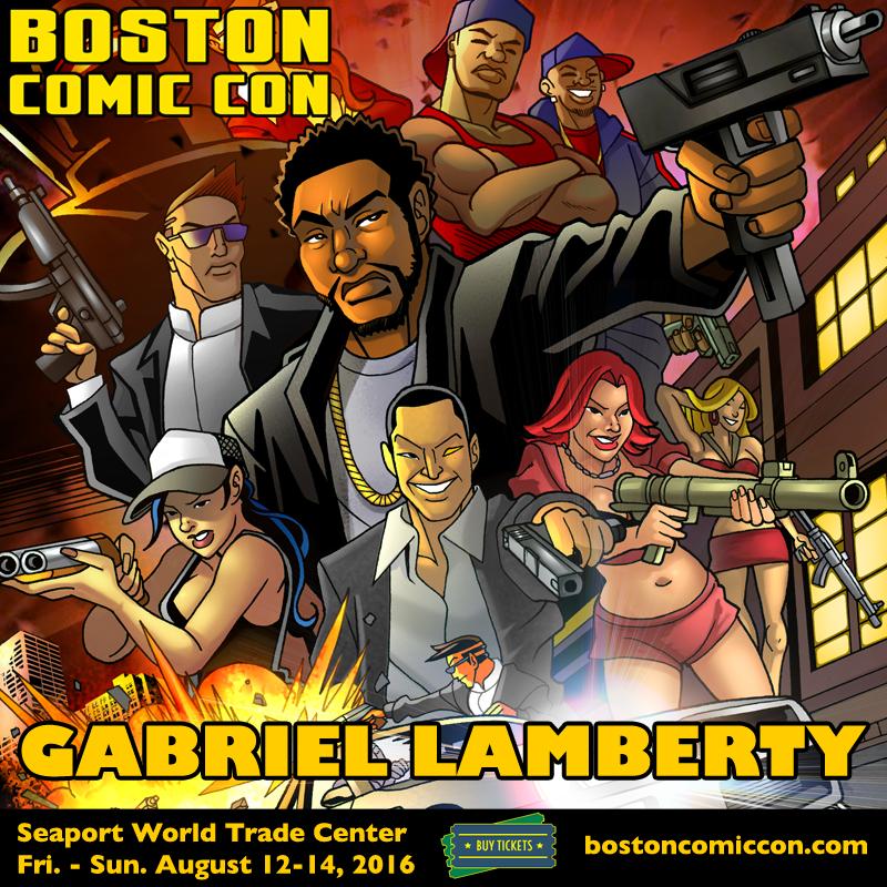 Boston Comic Con 2016 by GabeLamberty