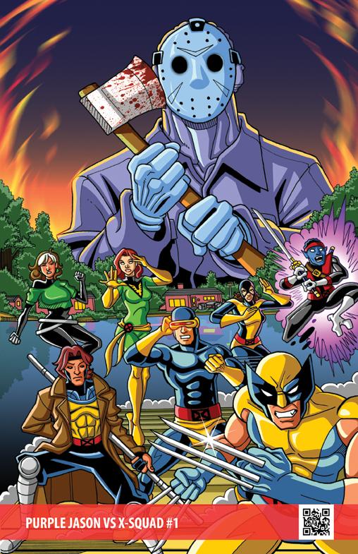 2016 Purple Jason vs X-Squad by GabeLamberty