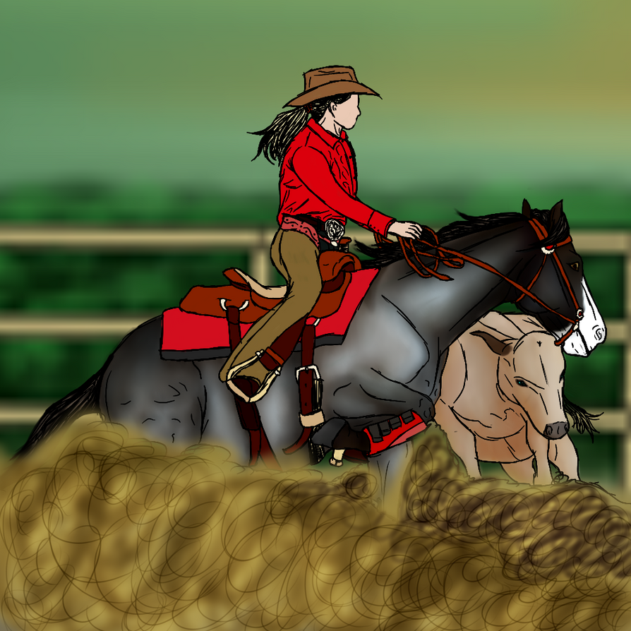 Repeat - Reining Cow Horse by RimrockRanchEC