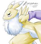Renamon is back