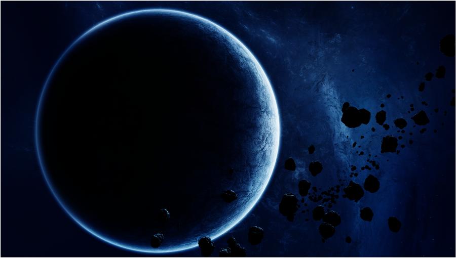 Deep Blue by Merwannn