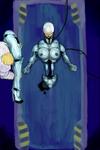 Female Robocop Construction
