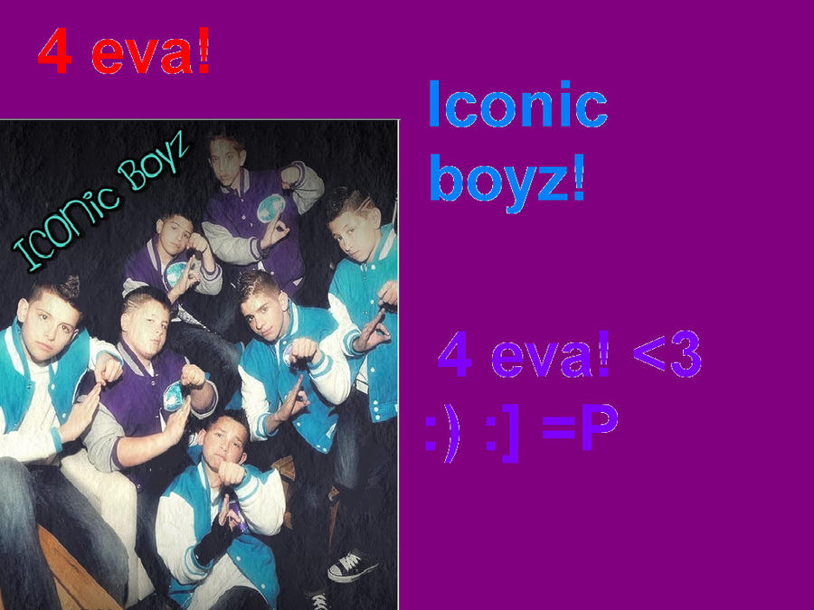 Iconic boyz by sonamy4ever25 on deviantart - Jawga boyz wallpaper ...