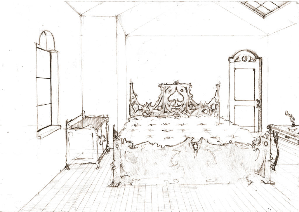 Room sketch by Sashiri ...