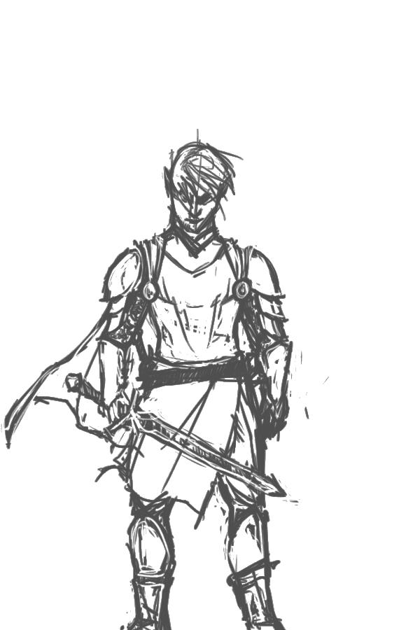 The Sad Knight by Sashiri