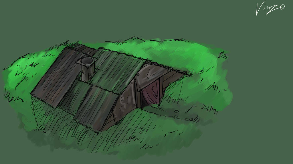Sturdy Hut by Sashiri