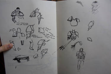 armour sketches by jasonshawcross