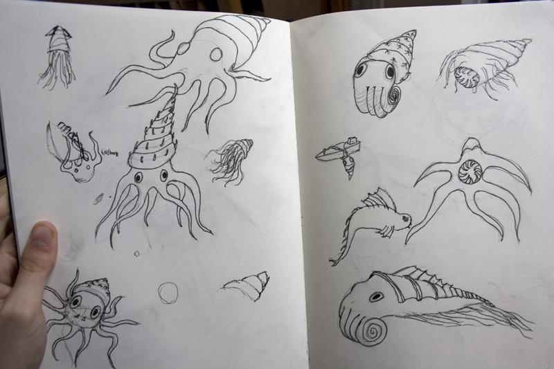 sea creatures by jasonshawcross