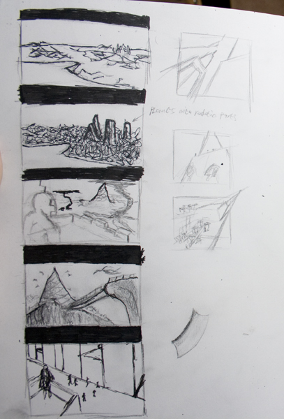 enviroment sketches by jasonshawcross