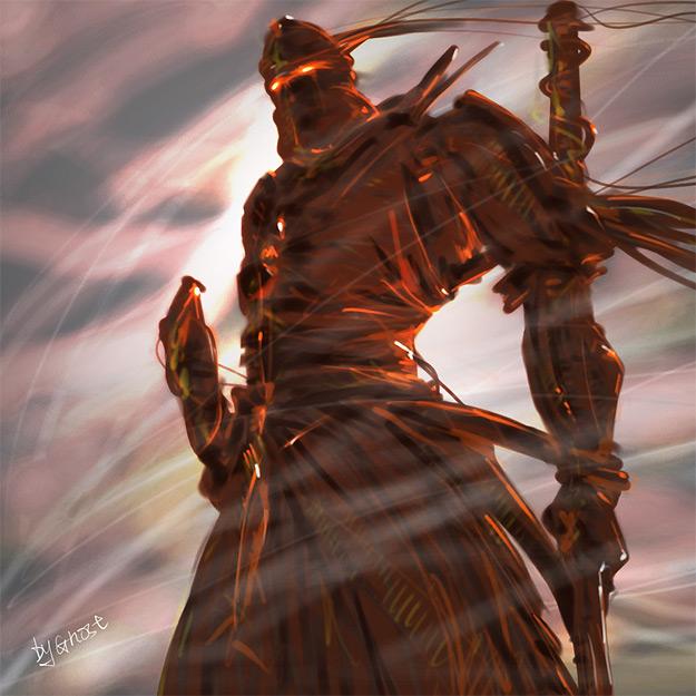 Dark Samurai by ghostever