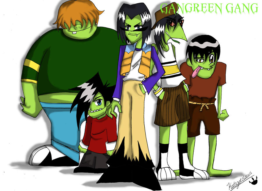 The Gangreen Gang by Katsgotclaws