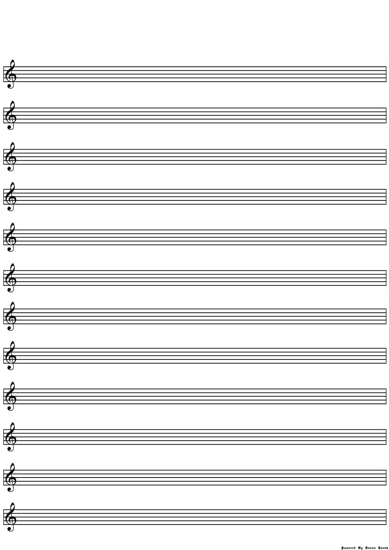 blank lines sheet music optimised deviantart