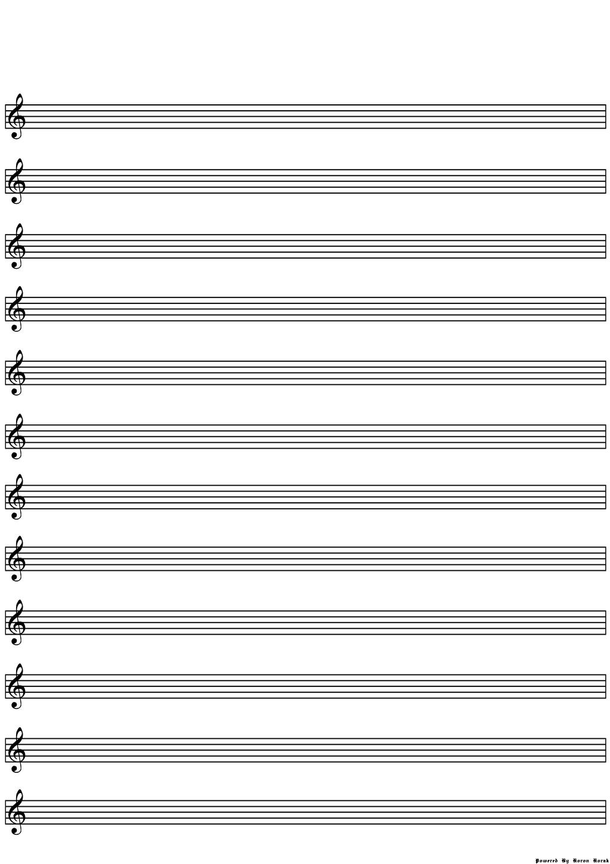 lines sheet blank music optimised fill