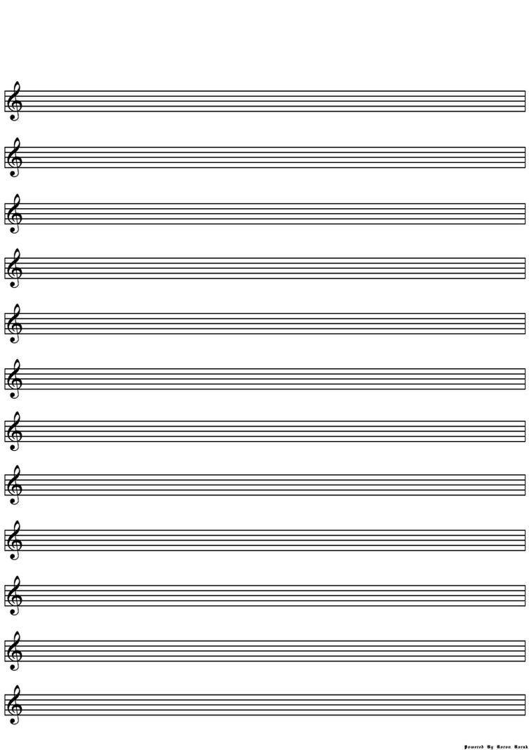 blank sheet music optimised 12 lines by koronkorak on deviantart