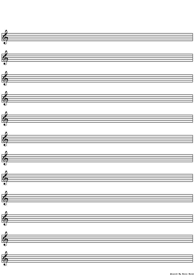 lines sheet music blank optimised fill