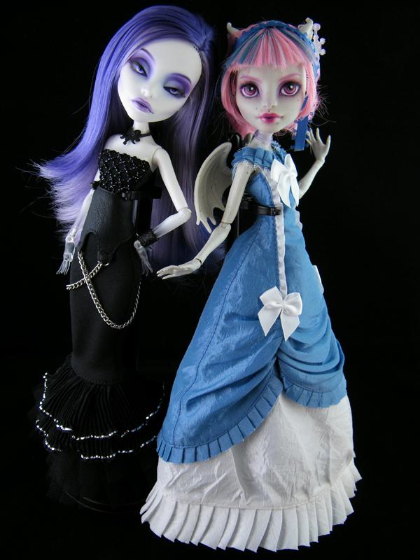 Как сделать платье на куклу монстер хай 389