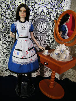 Custom Alice Tonner Doll