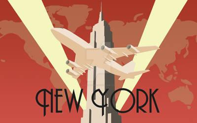 Art Deco poster New York