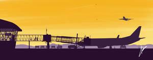 Sunrise Departures by audoman2607