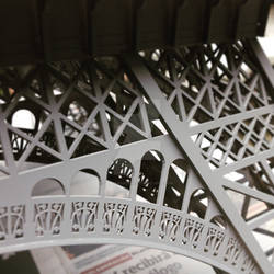 Scale Eiffel Tower - detail