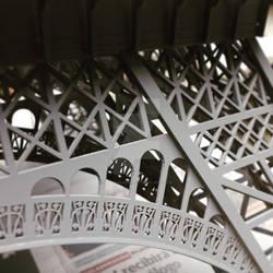 Scale Eiffel Tower - detail