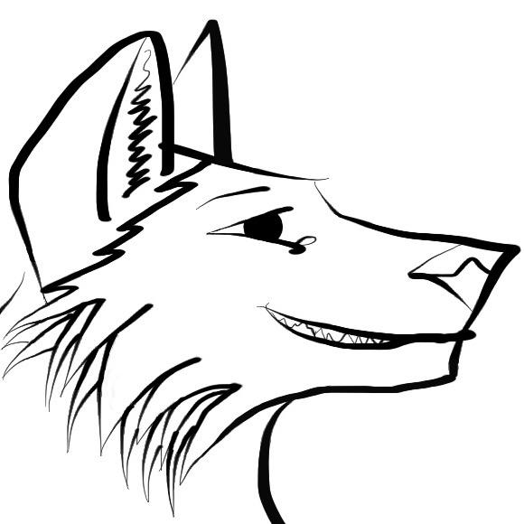 Proud wolf by xxPrimalHunterxx