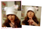 Fleece Hat: Hello Kitty