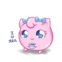 Sweet Tea Jigglypuff by Bon-Bon-Bunny