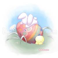 Easter Bun by Bon-Bon-Bunny