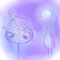 Birdhouse by Bon-Bon-Bunny