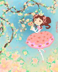 Princess Peachie by Bon-Bon-Bunny