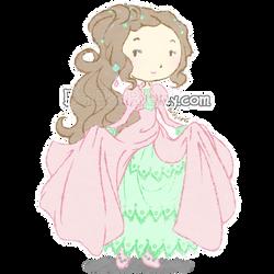 Pink Victorian Dress by Bon-Bon-Bunny