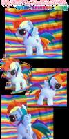 MLP Plush Filly Rainbow Dash
