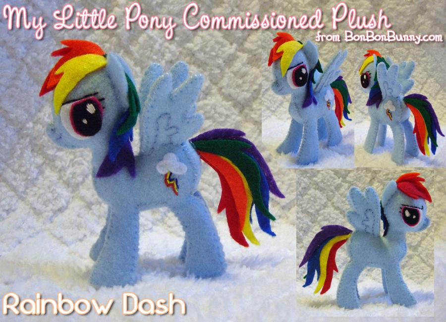 Mlp Plush Rainbow Dash by