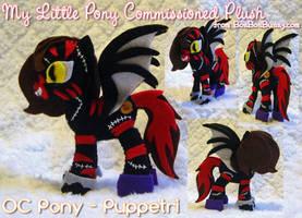 MLP Plush OC Pony - Puppetri by Bon-Bon-Bunny