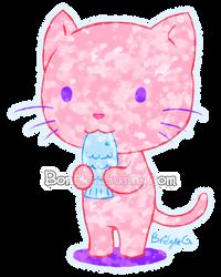 Fishy Cat by Bon-Bon-Bunny