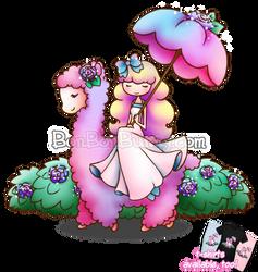 Alpaca Maiden by Bon-Bon-Bunny