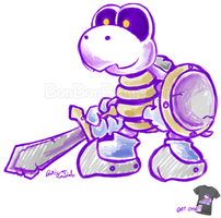 Dry Bones Knight by Bon-Bon-Bunny