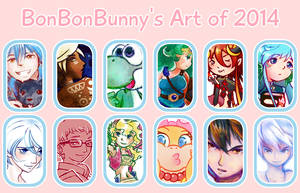 2014 Art Summary by Bon-Bon-Bunny