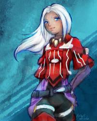 Elma (+ Graphic Tees!) - Xenoblade Chronicles X by Bon-Bon-Bunny