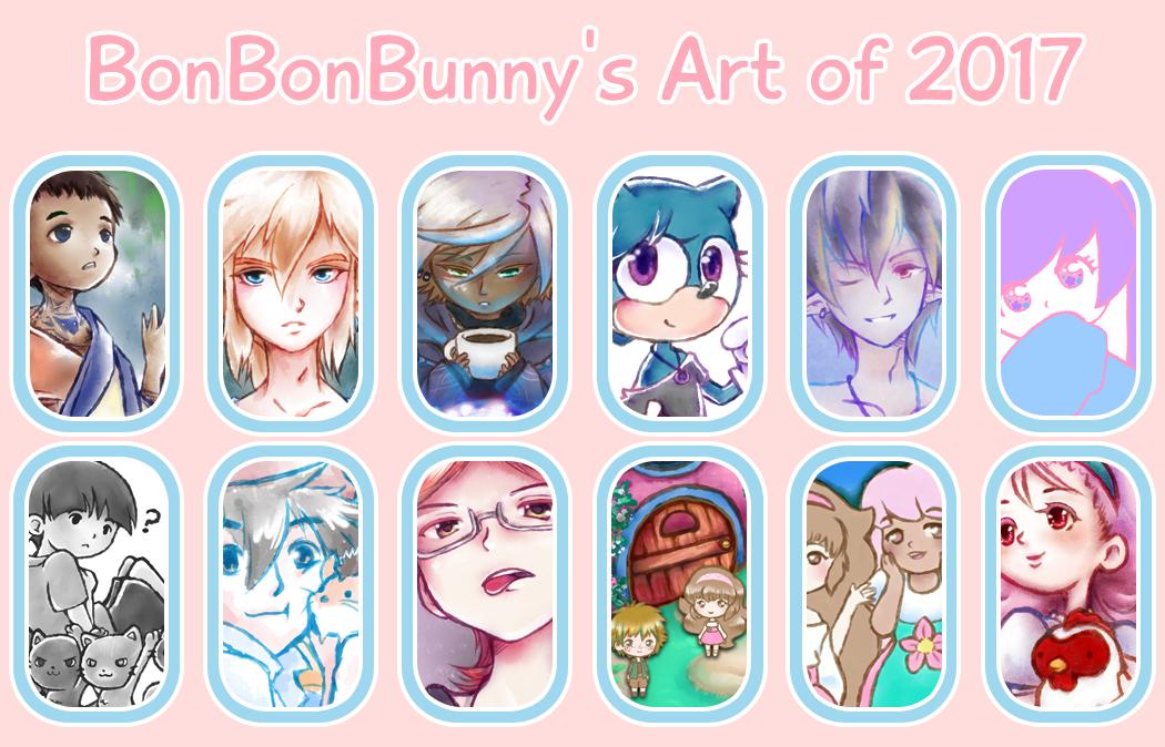 2017 Art Summary by Bon-Bon-Bunny