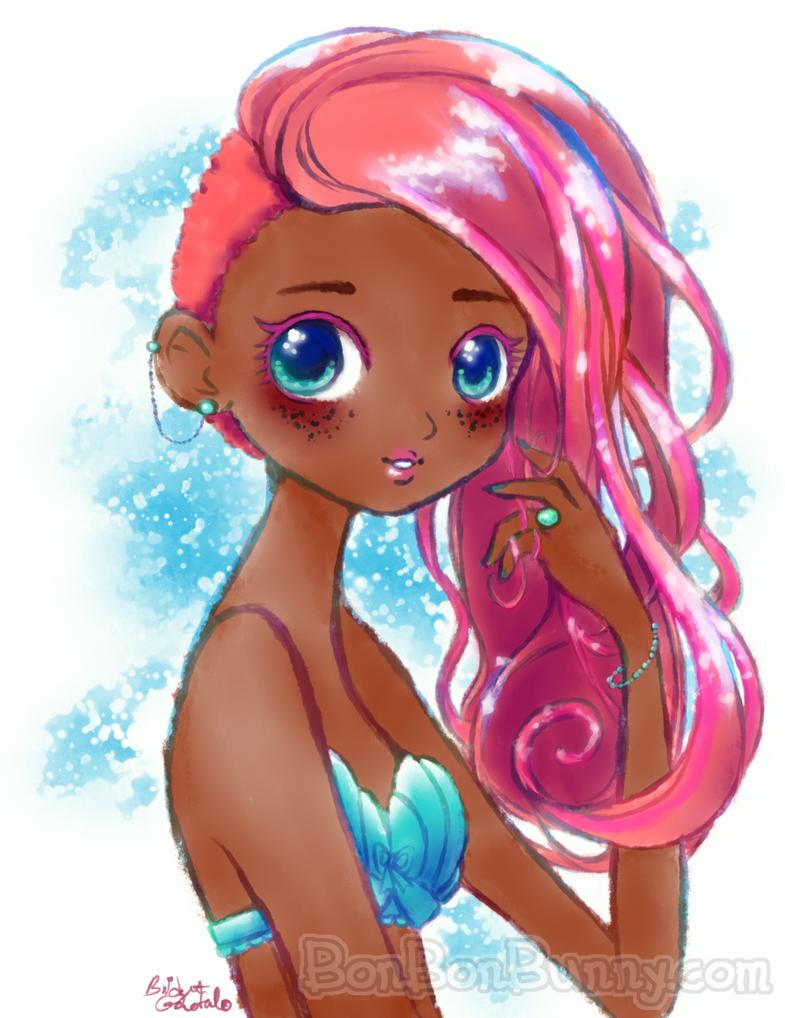 Mermaid Treasure for #Mermay by Bon-Bon-Bunny