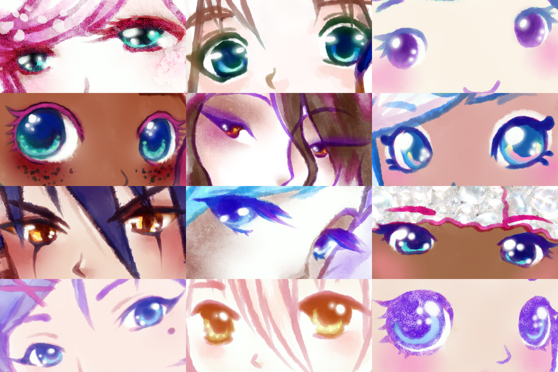 Artist Eye Meme by Bon-Bon-Bunny
