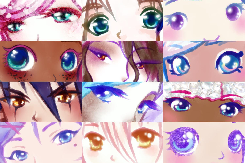Artist Eye Meme by Bon-Bon-Bunny
