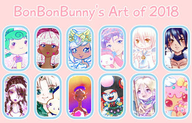 2018 Art Summary by Bon-Bon-Bunny