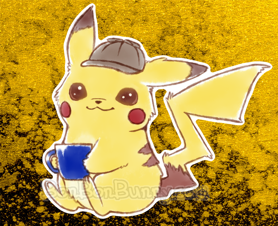 Detective Pikachu + T-Shirts and Merch by Bon-Bon-Bunny